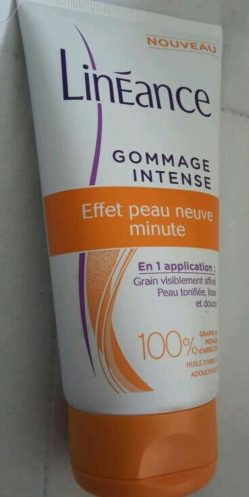 Soin gommage intense
