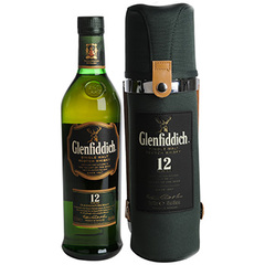 Whisky 12 ans Glenfiddich 70cl + etui trail edition