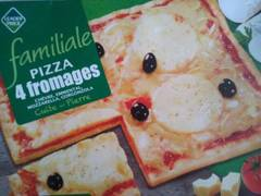 Pizza familiale 4 fromages 650g