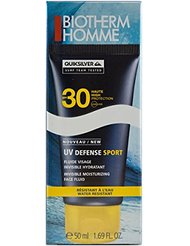 Biotherm Homme UV Defense Sport Fluide Visage Invisible Hydratant SPF 30 50 ml