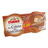 Rians creme aux speculoos 2x90g