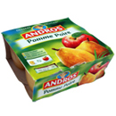 Andros compote pomme poire 4x100g