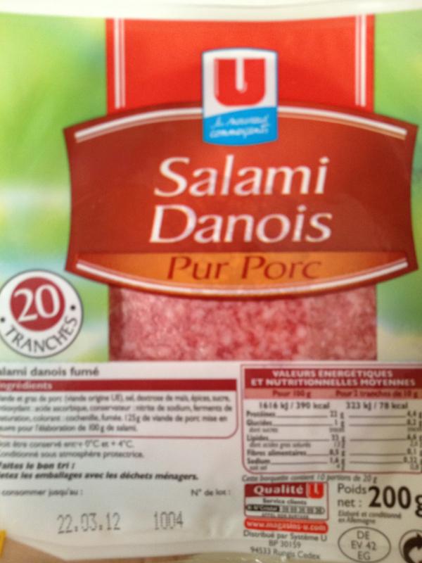 salami frais