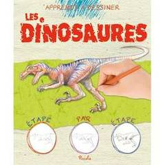 Apprends a dessiner- Dinosaures