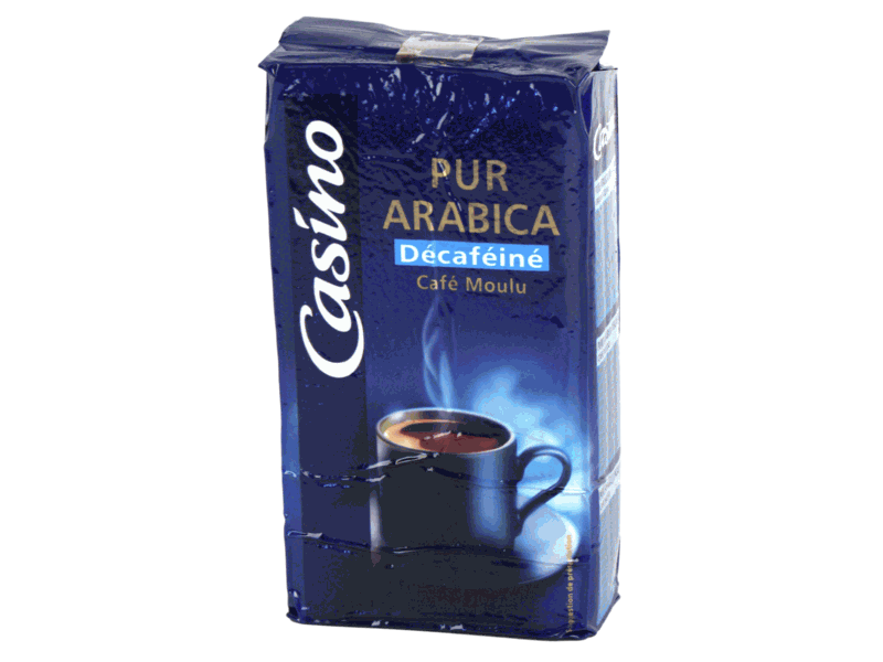 Cafe pur Arabica Decafeine