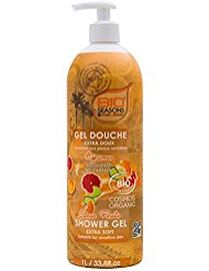 BIO SEASONS Gel Douche Agrumes 1 L
