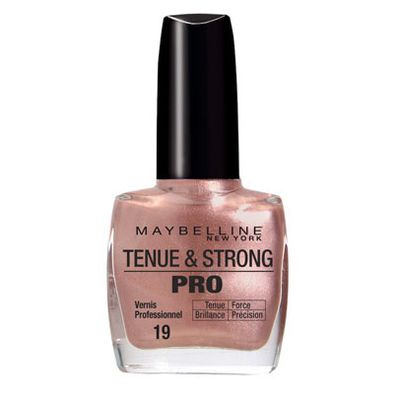Gemey Vernis a Ongles Tenue & Strong Pro Brun Immuable N°19