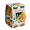 Auchan pur jus multifruits 4x20cl