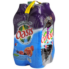 Oasis pomme cassis framboise 4x2l