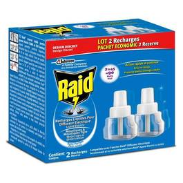 Recharge liquide anti moustiques tous les produits insecticides prixing - Prise anti moustique raid ...