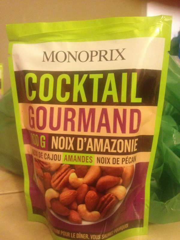 Cocktail gourmand noix amazonie 100g