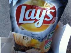 Chips barbecue, Lays 75g
