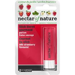 Stick levres gourmand fraise sauvage - Nectar of Nature