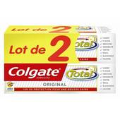 Colgate dentifrice total original 2x75ml