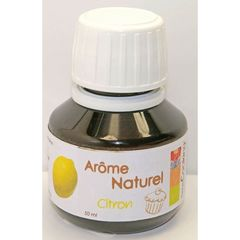 Arome naturel citron SCRAP COOKING, 50ml