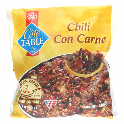 Chili con carne Cote Table 600g