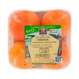 Orange Valencia bio barq.4 fruits cal.5/6 Afrique du Sud