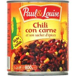 Paul & Louise Chili Cône Carne 800 g -