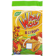 Crepe Whaou Pomme x8 256g