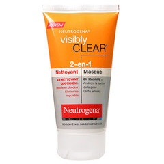 Visibly clear - Nettoyant/ Masque 2 en 1