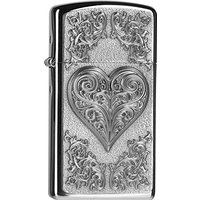 Zippo 2004523 Briquet Heart with Ornaments slim