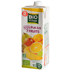 Pur jus 7 fruits Bio Village 1l
