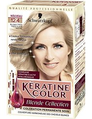 Kératine Color Coloration Permanente 12.4 Blond Très Clair Nacré 60 ml