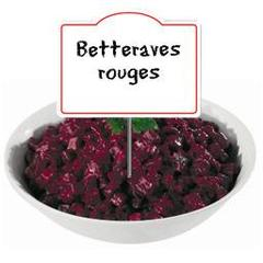 Claude Leger, Betteraves rouges en salade, au rayon traiteur, a la coupe