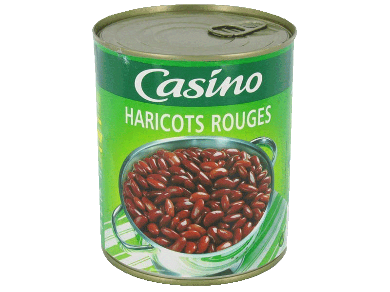 Haricots rouges Casino 500g