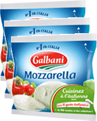 Lot de 3 Mozzarella Italiana 125 g