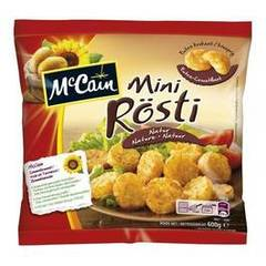 Mc Cain mini rosti nature 600g