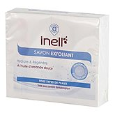 Savon exfoliant Inell Huile amande douce - 2x100g