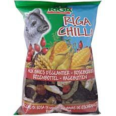 Aliment pour chinchillas Chilla aux bais d'eglantier RIGA, 100g