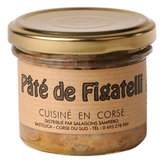 Pâté de ficatelli Sampiero 90g