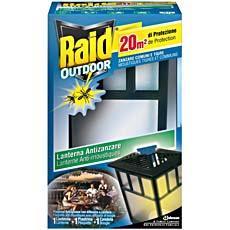 raid lanterne anti moustiques usage exterieur tous les produits insecticides prixing. Black Bedroom Furniture Sets. Home Design Ideas