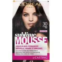 Coloration Sublime Mousse CASTING, le brun pur n° 30