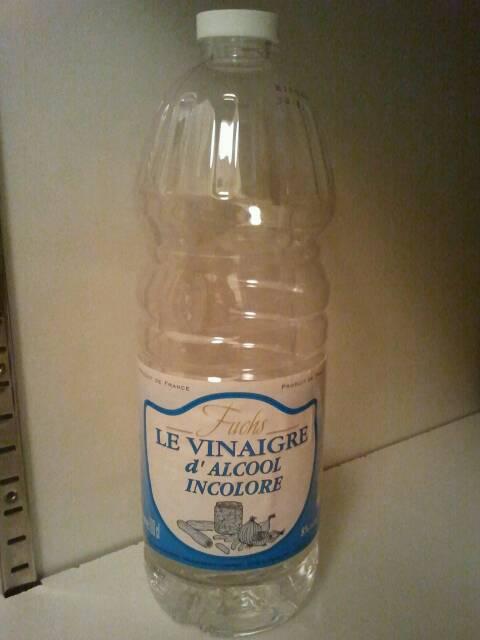 Vinaigre d 39 alcool fuchs incolore 1l tous les produits vinaigres vinaigrettes prixing - Vinaigre blanc ou alcool ...