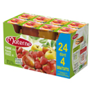Materne compote pomme + pomme fraise 24x100g