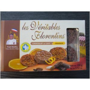 Les Florentins, chocolat lait et orange