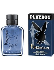 Playboy King of the Game Eau de Toilette, 1er Pack (1 x 60 ml)