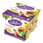 Taillefine pomme nature 8x100g