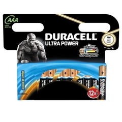 Duracell - Ultra Power - 12 Piles Alcalines type AAA (LR03)