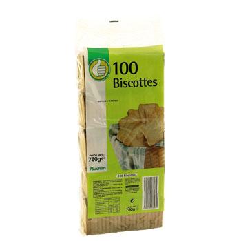 100 biscottes auchan pouce 1 x 750g tous les produits. Black Bedroom Furniture Sets. Home Design Ideas