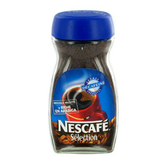 Cafe soluble decafeine Selection NESCAFE, 200g