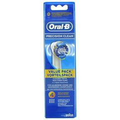 Brossettes dentaires Precision Clean ORAL B, 4 unites