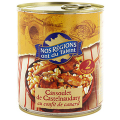 Cassoulet castelnaudary canard Nos Regions ont du Talent 840g