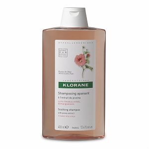 Klorane Peony Extract Soothing Shampoo For Irritated, Itchy Scalps