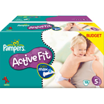 Pampers active fit duopack change x108 taille 5