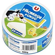 Fromage fondu au lait pasteurise U, 21%MG, 24 portions, 400G