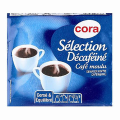 Selection, cafe decafeine